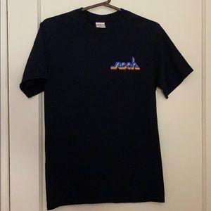 NoahNYC unisex black tee shirt size: S